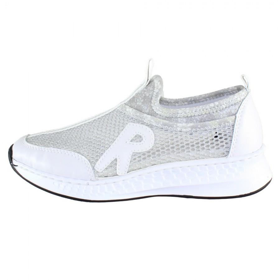 pret cu ridicata vânzare profesională gama exclusivă Pantofi sport dama - alb, Rieker - N5654-80-White - Palomashop.ro