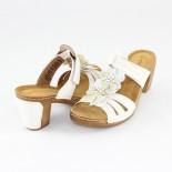 Saboti dama - alb, Marco Tozzi - 2-27505-22-White
