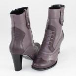 Ghete piele naturala dama - gri, violet, Nike Invest - iarna - G264-VioletGri