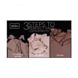 Paleta pentru conturarea fetei - Wibo 3 Steps To Perfect Face - Dark