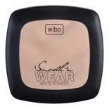 Pudra compacta - Wibo Smooth'n Wear Matte Powder - Nr.1