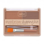 Set pentru sprancene - Wibo Eyebrow Shaping Kit Shape & Define - Nr.1