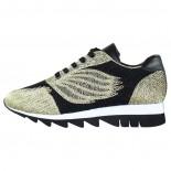 Pantofi dama - negru, auriu, Gerry Weber Shoes - G32318-867-811-Gold-Black