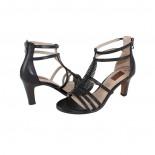 Sandale piele naturala dama - negru, s.Oliver - 5-28307-24-Black