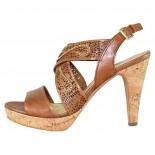 Sandale piele naturala dama - maro, Marco Tozzi - 2-28367-22-CamelAC