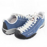 Pantofi piele intoarsa sport - albastru, Scarpa - Mojito-32605-350-Ocean