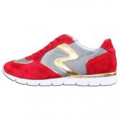 Pantofi piele naturala dama rosu Semler 74-758-4-Nelly