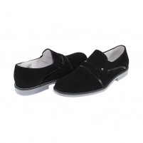 Pantofi eleganti piele naturala barbati negru Conhpol CE0C-3091-Z001-00S06-Black