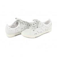 Pantofi Marco Tozzi - off white, din piele ecologică