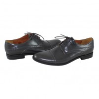 Pantofi eleganti piele naturala barbati gri Conhpol C00C-5732-0465-00S02-Grey