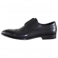 Pantofi eleganti piele naturala barbati negru Alberto Clarini A054-2A-Black