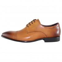 Pantofi eleganti piele naturala barbati maro Alberto Clarini A054-2C-Brown
