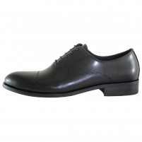 Pantofi eleganti piele naturala barbati negru Alberto Clarini A589-52A-Black