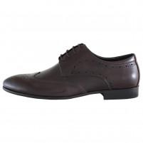 Pantofi eleganti piele naturala barbati maro Alberto Clarini C213-302B-Brown