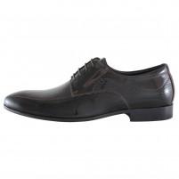 Pantofi eleganti piele naturala barbati maro Alberto Clarini C213-303B-Brown
