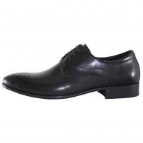 Pantofi eleganti piele naturala barbati negru Alberto Clarini SL546-3A-Black