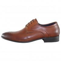 Pantofi eleganti piele naturala barbati maro Alberto Clarini SL546-3B-Brown