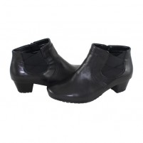 Botine Ara shoes - black, din piele naturală