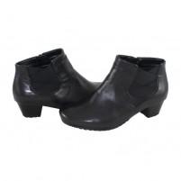 Botine piele naturala dama elegante negru Ara shoes 12-42013-Black