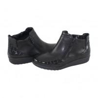 Ghete Ara shoes - black, din piele naturală