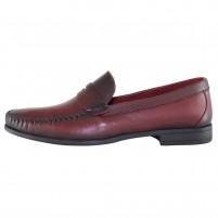 Mocasini piele naturala barbati bordo Dogati shoes 7003-Bordo