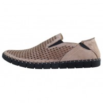 Pantofi piele naturala barbati maro Dogati shoes DC-118-07