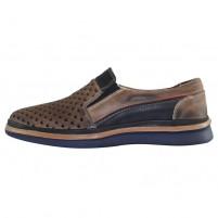 Pantofi piele naturala barbati maro Dogati shoes DC-219-23-36
