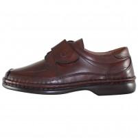 Pantofi piele naturala barbati maro Gitanos 220-Maro