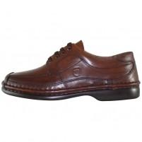 Pantofi piele naturala barbati maro Gitanos 220-MP