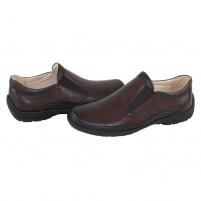 Pantofi piele naturala barbati maro Gitanos 102-Maro-P