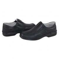 Pantofi piele naturala barbati negru Gitanos 221-Negru