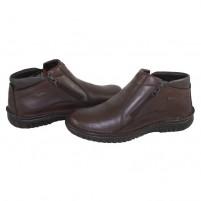 Cizme piele naturala barbati maro Krisbut 6335-6-3-Brown
