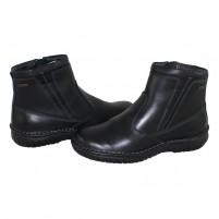 Cizme piele naturala barbati negru Krisbut 6340-4-3-Black