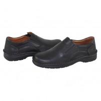 Pantofi piele naturala barbati negru Krisbut 4561-1-1-Black