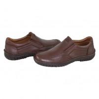 Pantofi piele naturala barbati maro Krisbut 4800-4-1-Brown