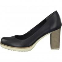 Pantofi dama negru Marco Tozzi toc mediu 2-22435-20-002-Black-Antic