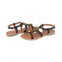 Sandale piele naturala dama maro Marco Tozzi 2-28139-26-303-Mocca-Comb