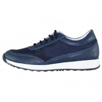 Pantofi piele naturala copii bleumarin Melania ME6200F9E-A