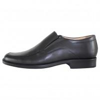 Pantofi eleganti piele naturala barbati negru Nevalis 445-Negru