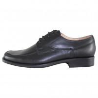 Pantofi eleganti piele naturala barbati negru Nevalis 446-Negru