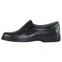 Pantofi piele naturala barbati negru Otter 27824V-Negru