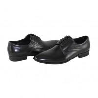 Pantofi eleganti piele naturala barbati negru Saccio 3139-30A-Black