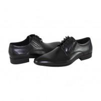 Pantofi eleganti piele naturala barbati negru Saccio A369-36A-Black