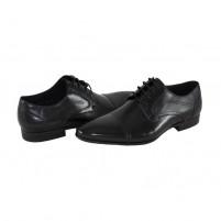 Pantofi eleganti piele naturala barbati negru Saccio A812-33A-Black