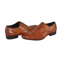 Pantofi eleganti piele naturala barbati maro Saccio 369-67C-Light-Brown