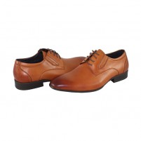 Pantofi eleganti piele naturala barbati maro Saccio A369-36C-Light-Brown