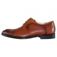 Pantofi eleganti piele naturala barbati maro Nevalis 127-Maro