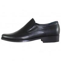 Pantofi eleganti piele naturala barbati negru Pieton E-ADI-S-Negru