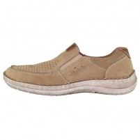 Pantofi piele naturala barbati bej Rieker 03067-21-Brown