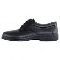 Pantofi piele naturala barbati negru Otter OT27814V-01-N-Negru